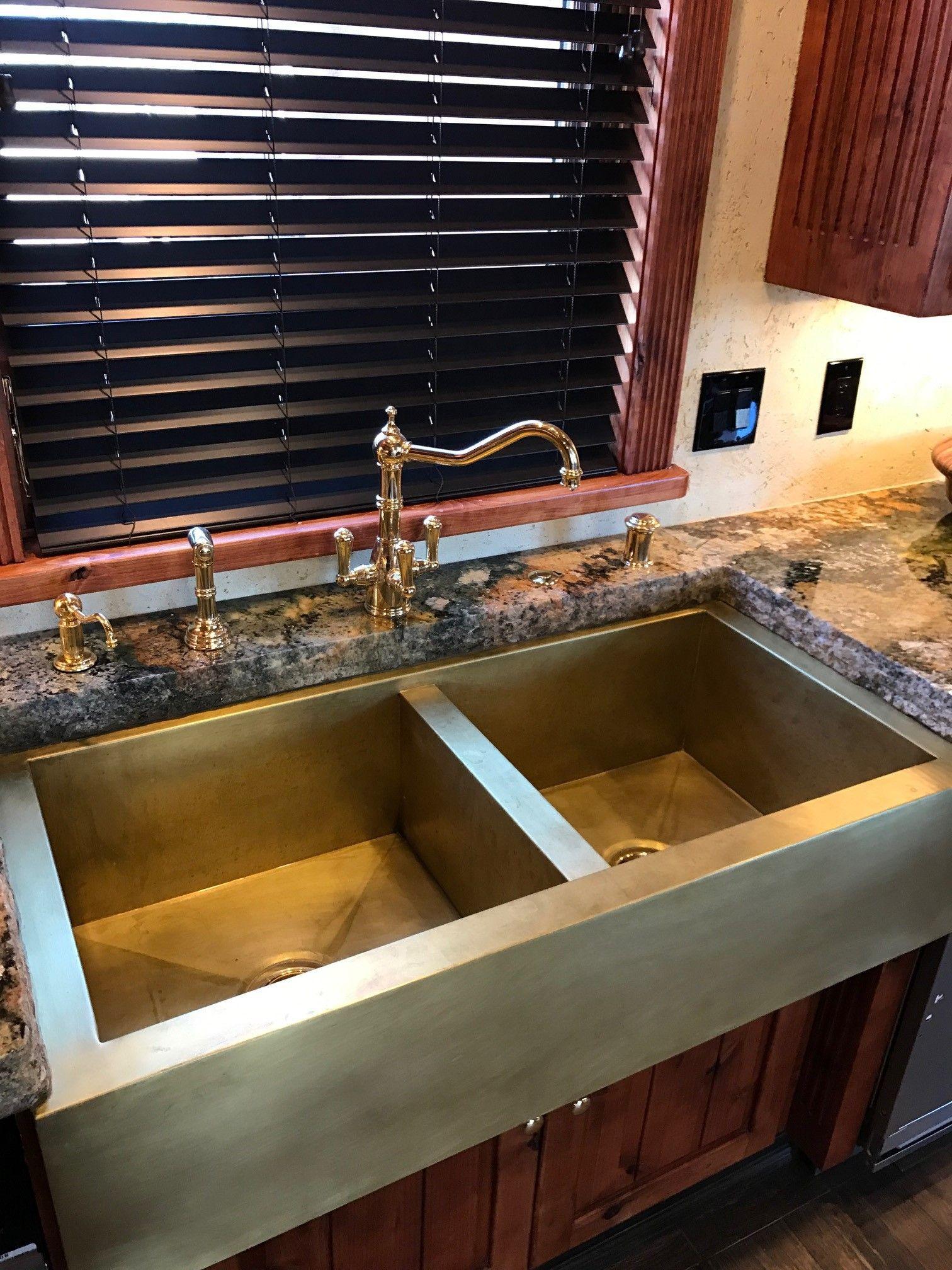 best of brass farmhouse kitchen sink
