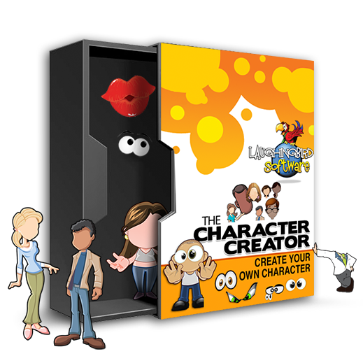Character Design Theme Generator : The character creator make a unique mascot or cartoon