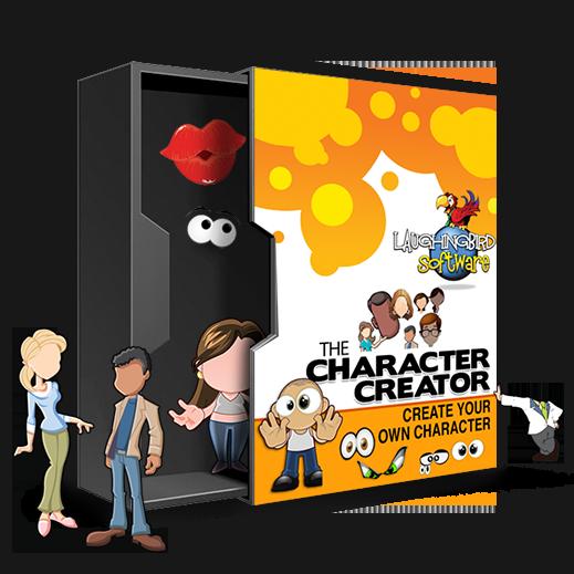 The Character Creator Make a unique mascot or cartoon