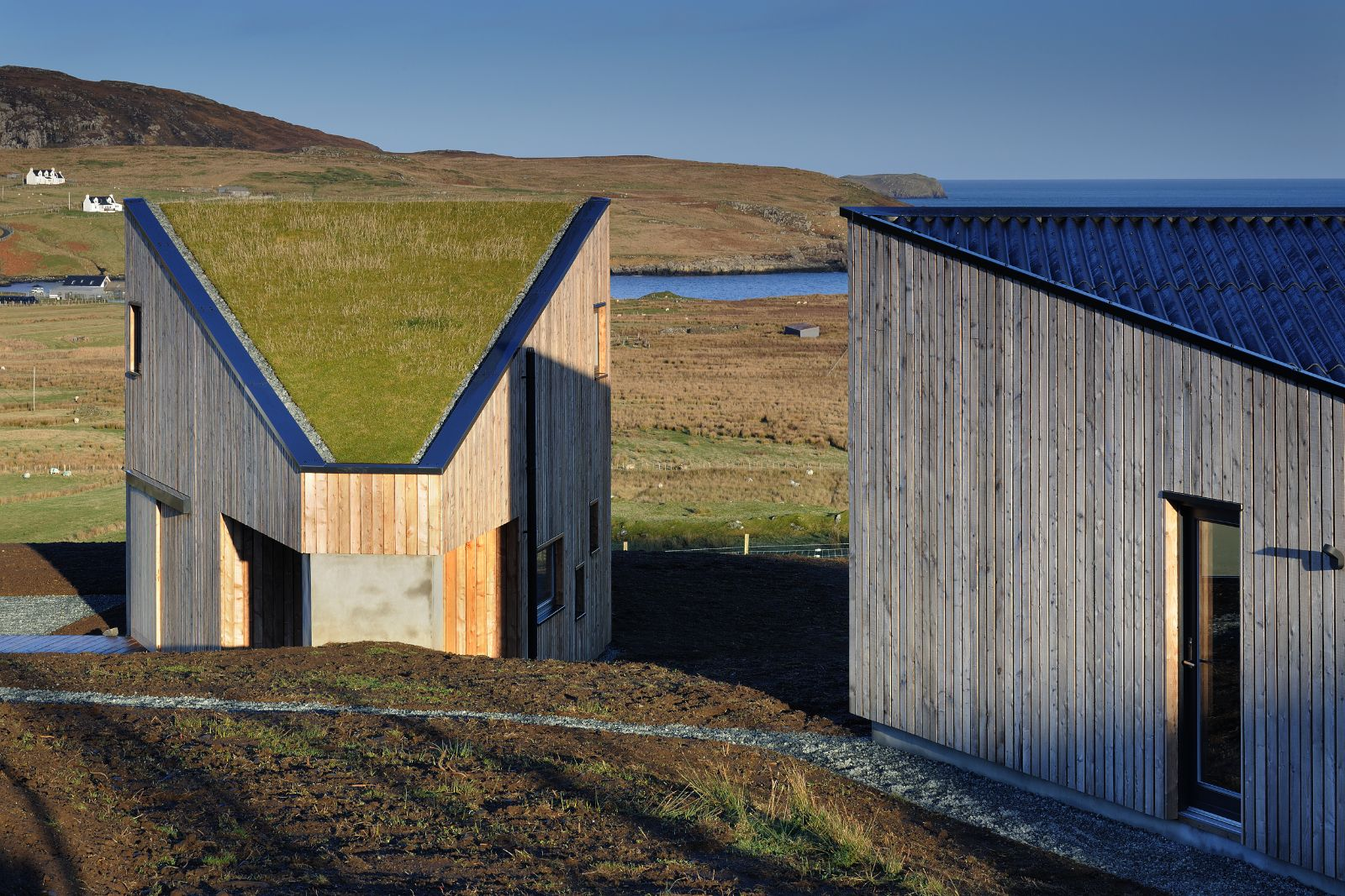 Kendram Turf House Rural Design Architects Isle Of