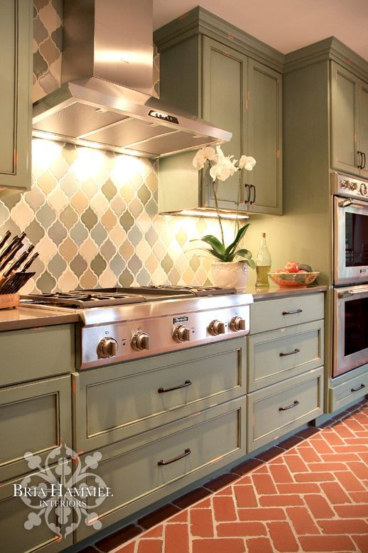 Holidays Saint Patrick Green Kitchen Cabinets Kitchen Inspiration Design Kitchen Cabinet Design