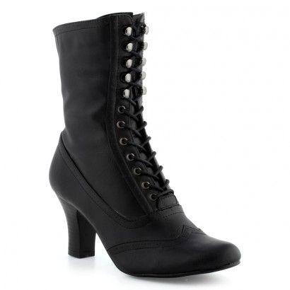 Boots/Bottines noir pour Femme : Boots/Bottines Laureana - - Very  Victorian, can pass for Edwardian.