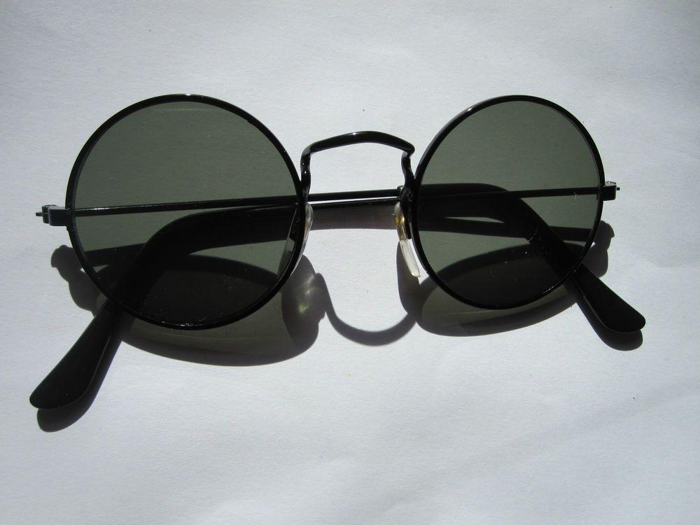 lunettes de soleil rondes retro 70s Nr.1 hippie goa verres accessoire  seventies ae69f45851c3