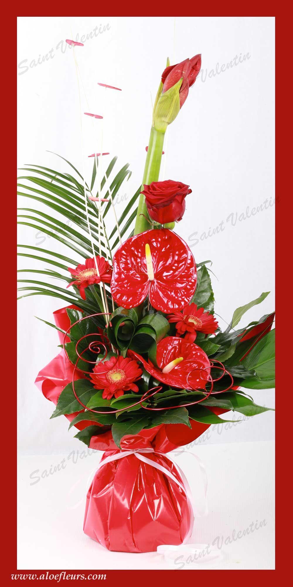 saisons – l'art floral pour la saint valentin | collection saint