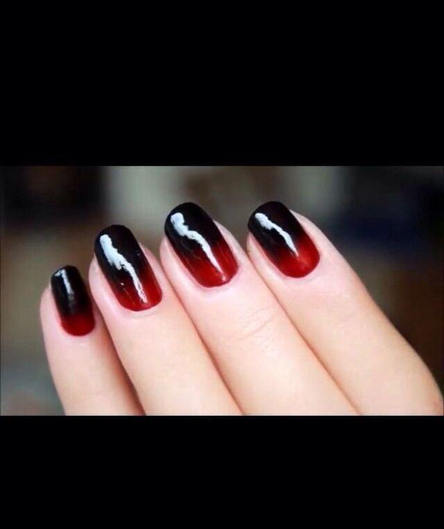 vampire nails - Google Search - Vampire Nails - Google Search Vampires Pinterest The Black