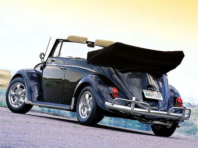 Classic VW Beetle Convertible