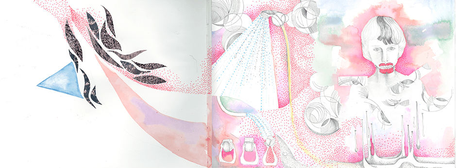 melting pointを制作する際にインスピレーションを受けたデザイン画
