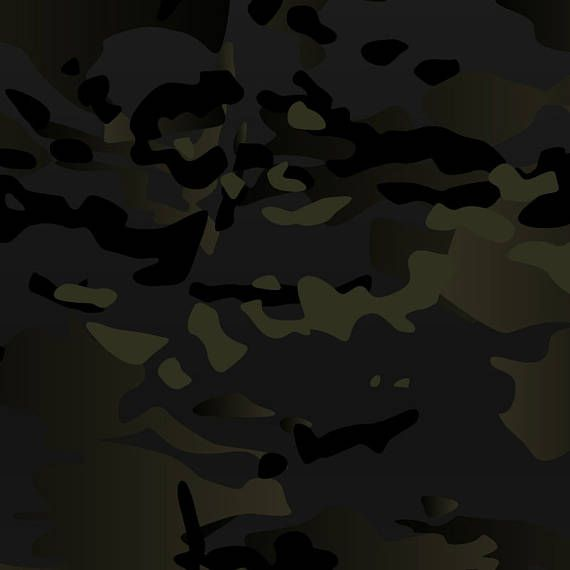 af9a4bc3cd Original Multicam Black vector camouflage pattern for printing ...