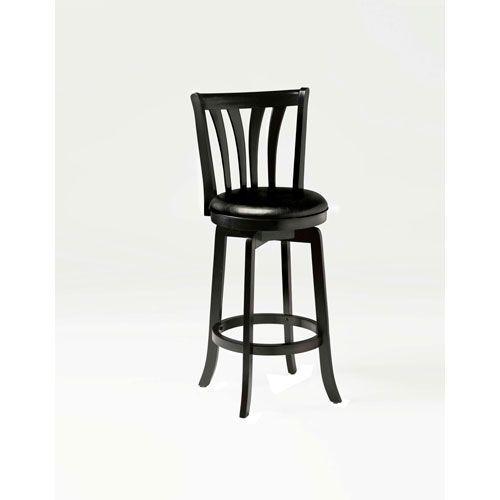 Fabulous Hillsdale Furniture 4495 827 Savana Black Wood Swivel Andrewgaddart Wooden Chair Designs For Living Room Andrewgaddartcom