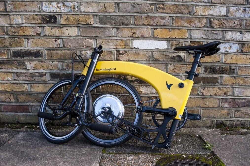 Hummingbird Electric Folding Bike Review Cyclist Folding