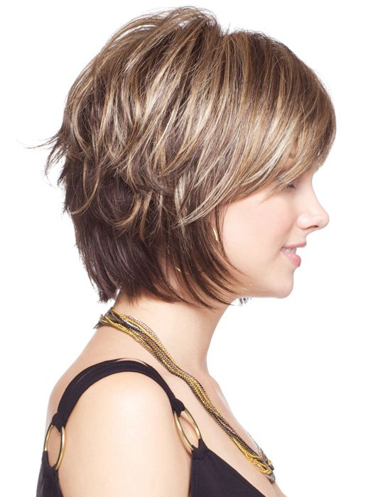 Pin By Bruno On Hairstyles Haircut For Thick Hair Short Hair With Layers Short Hair Styles