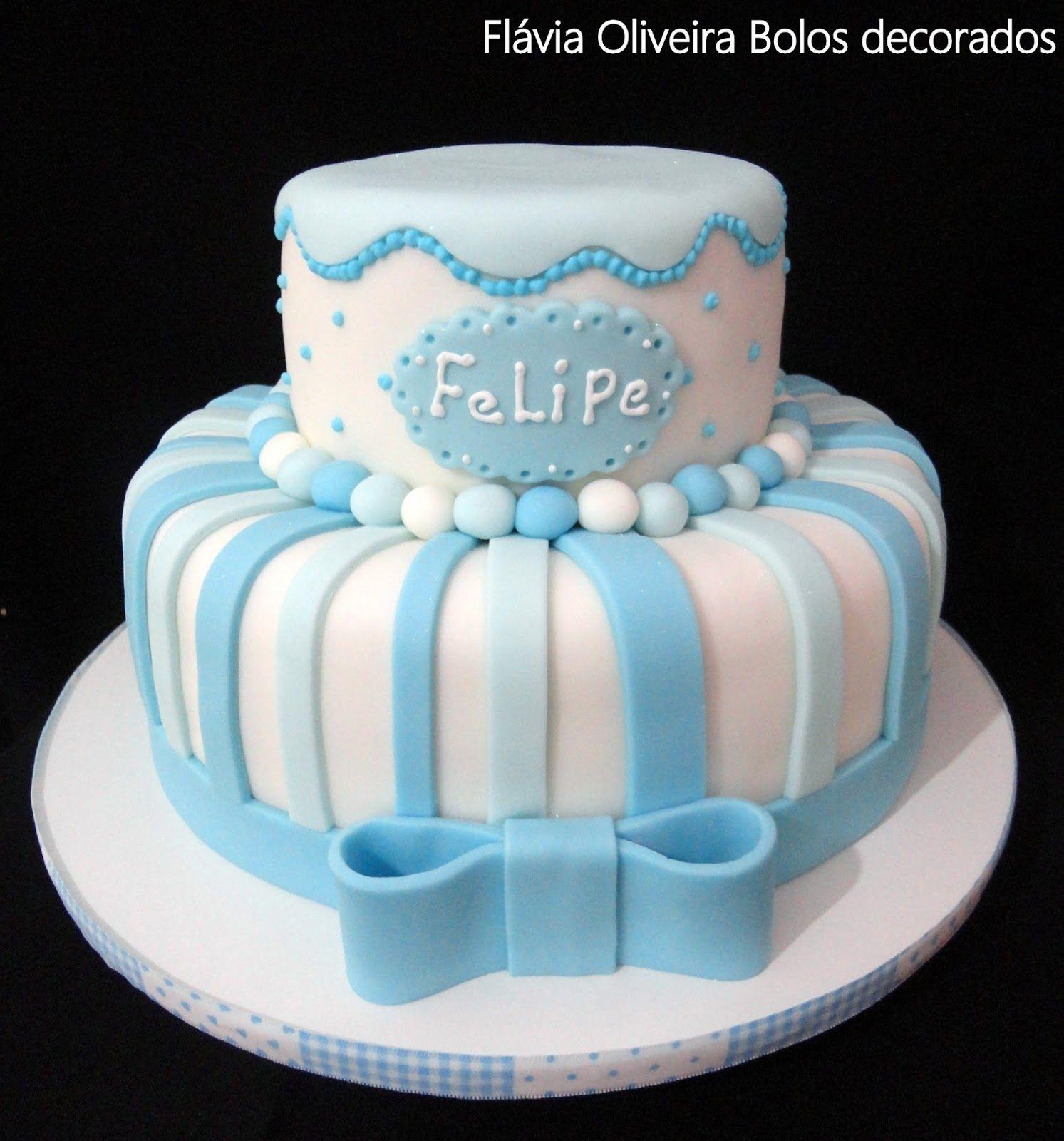 Bolo De Fraldas Cha De Bebe Azul Turquesa By Erika Mello