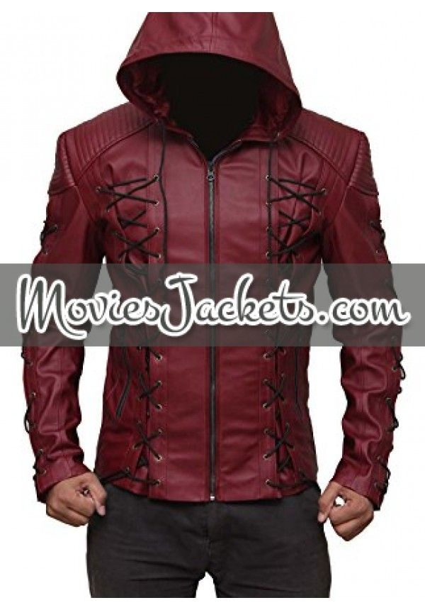 Arrow Arsenal Roy Harper Colton Haynes Hooded Jacket