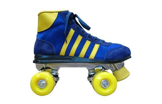 De 80's skates!