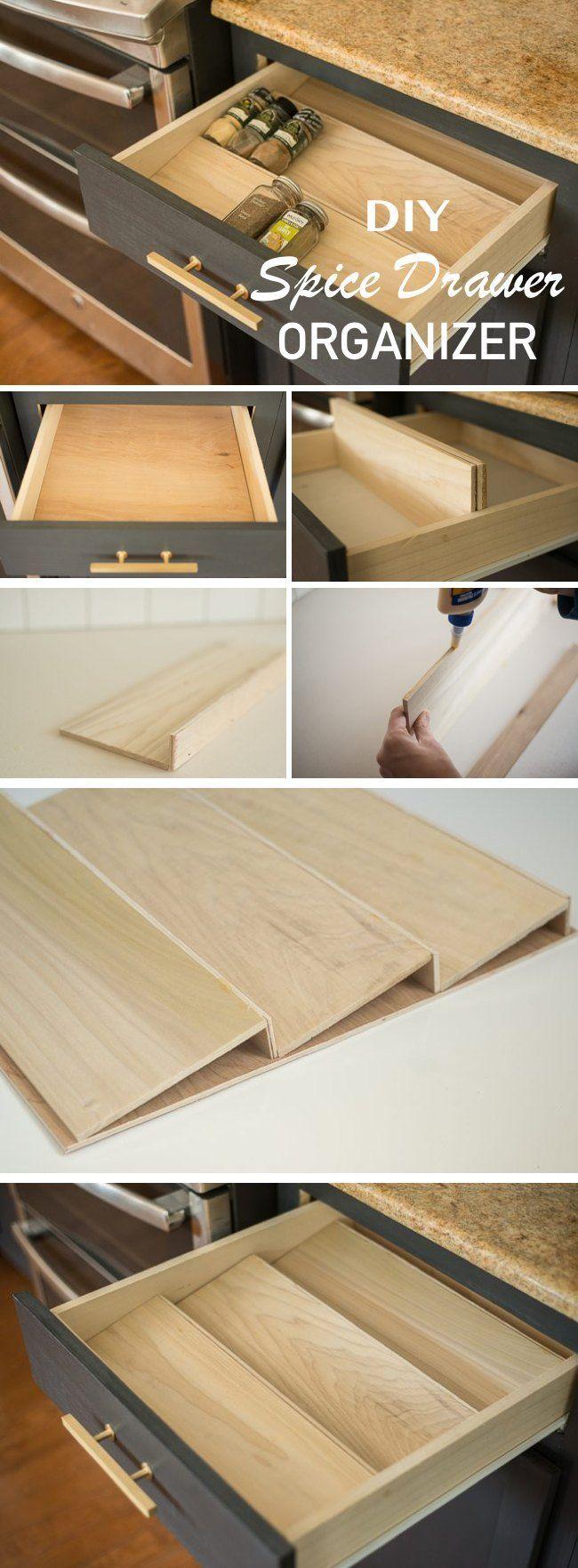 15 Innovative DIY Kitchen Organization & Storage Ideas | Möbel und Küche