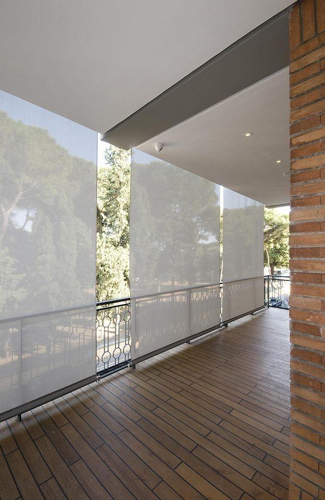 Balcony Shade Design: Vertical Shades For The Deck -- Casa O By Alvisi Kirimoto