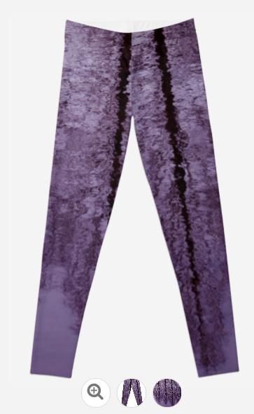Water Trees Legging - JUSTART on Redbubble  #justart #rb #redbubble #legging #fashion #clothing #abstract #purple #black