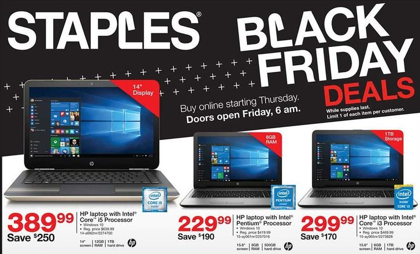Staples Black Friday Deals 2020 Offers Sale Check Ad Scan Black Friday Black Friday Countdown Black Friday Display