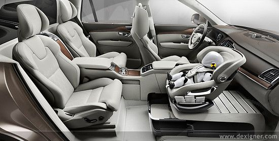 Volvo Unveils Xc90 Excellence Child Seat Concept Inspiration