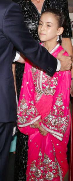 Princesse Lalla Khadija du Maroc, 14 juin 2017, Accueil du