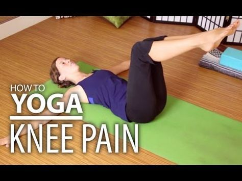 pin on knee yoga