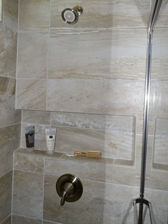 How To Customize Your Shower With Niches Benches And Even A Soap Dish Shower Tile Custom Shower Shower Soap