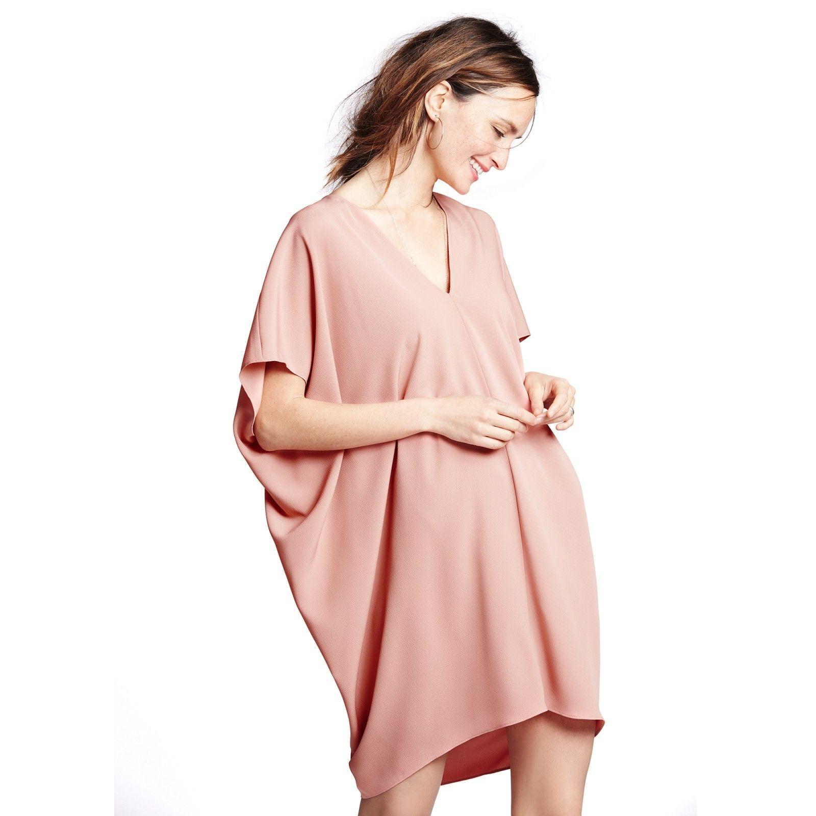 THE SLOUCH DRESS - HATCH (1600×1600) #maternitywear