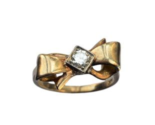 1940s bow ring