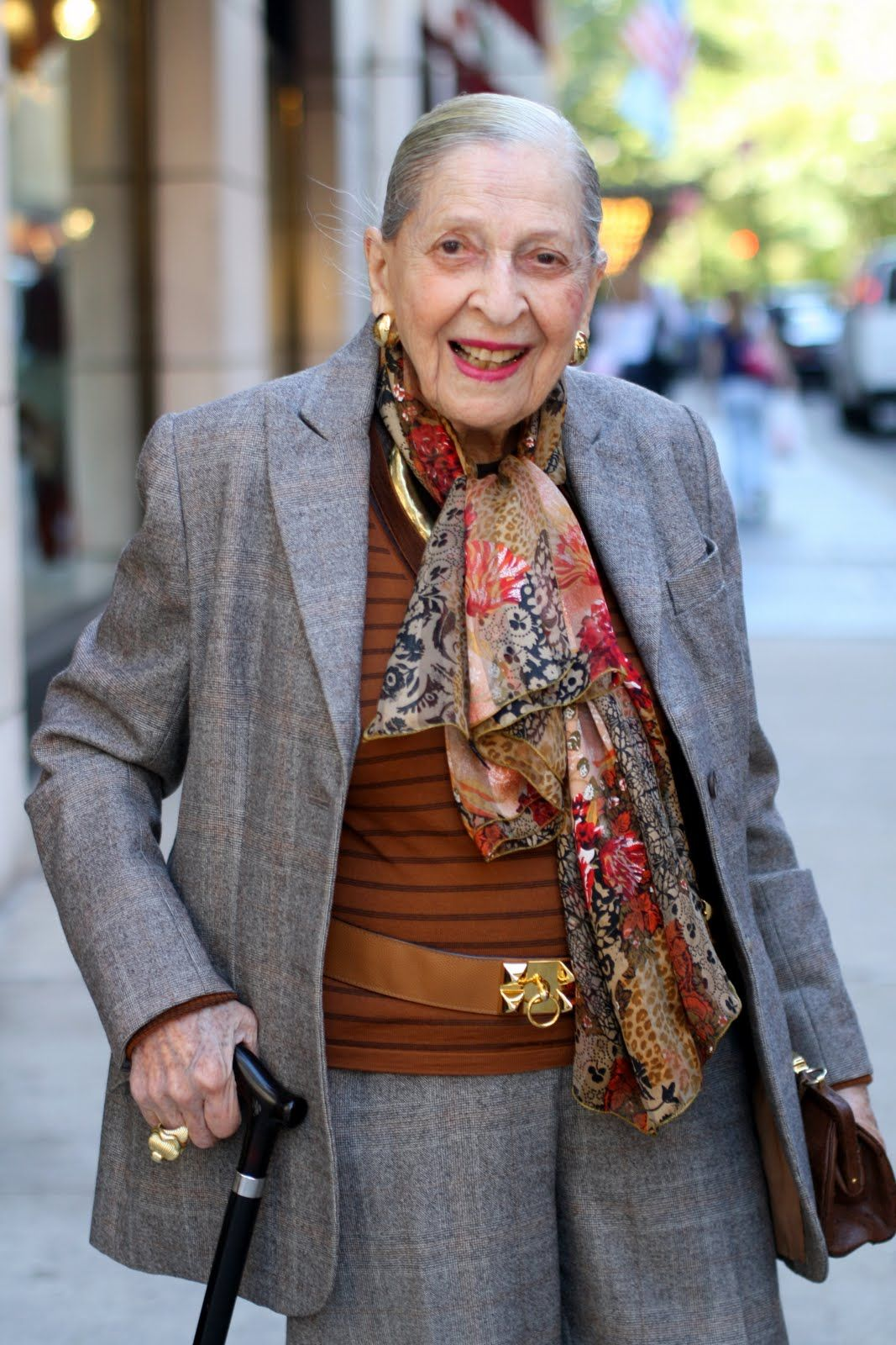 """Here are Rose's top ten beauty and lifestyle secrets on how to look and feel great at 98  Find your perfect perfume, people will remember you by your scent. Rose is known for her Pauline Trigere fragrance.She tells her granddaughter """"I'll give you anything in the world, but I won't give you my perfume.""""  Belts and Beads. Rose believes that a belt or unique strand of beads can really make an outfit and they don't have to cost a fortune.  Take care of your feet and wear good shoes, but when…"""