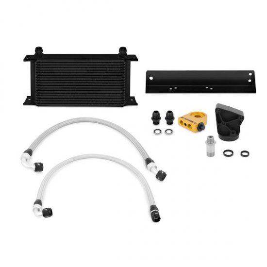Mishimoto Black Oil Cooler Kit Genesis Coupe 3 8 V6 Thermostatic 2010 2016 Hyundai Genesis Coupe Hyundai Genesis Hyundai