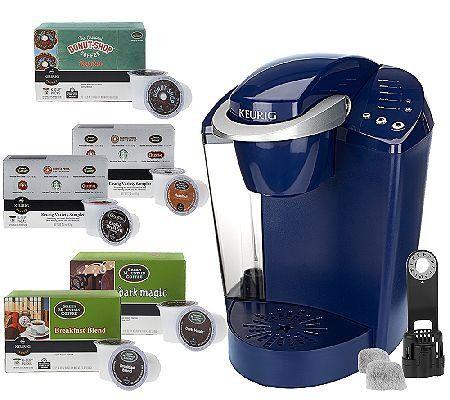 Keurig K40 Coffeemaker With 48 K Cup Packs Water Filter Kit
