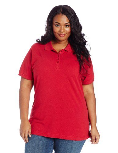 Dickies Women's Plus-Size Polo Shirt -- You can find more details ...