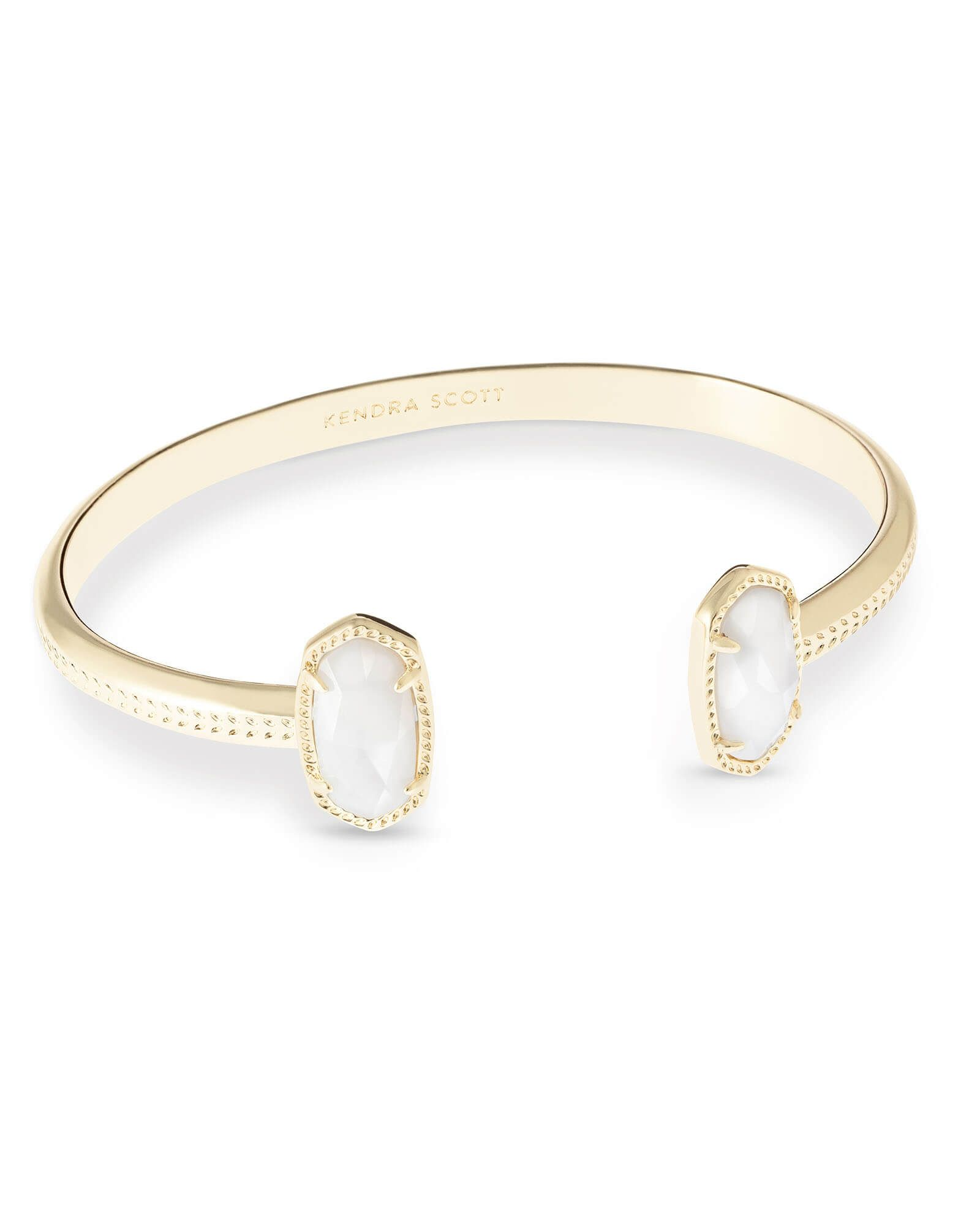 ee6e8db557b Shop the Elton Pinch Bracelet. With bold white pearl ovals to bookend its  elegant curve, this stunning gold pinch bracelet is the perfect addition to  any ...