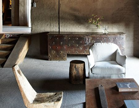 Interior designer axel vervoordt toplocaties axel vervoordt pinterest interieurs - Deco stijl chalet ...