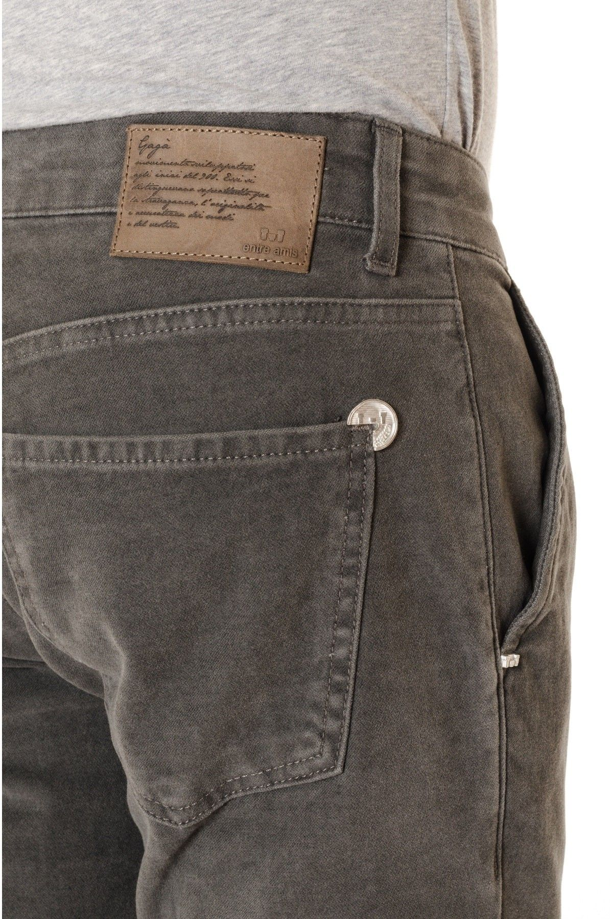 Gray trousers ENTRE AMIS for men F/W 16-17 - Rione Fontana