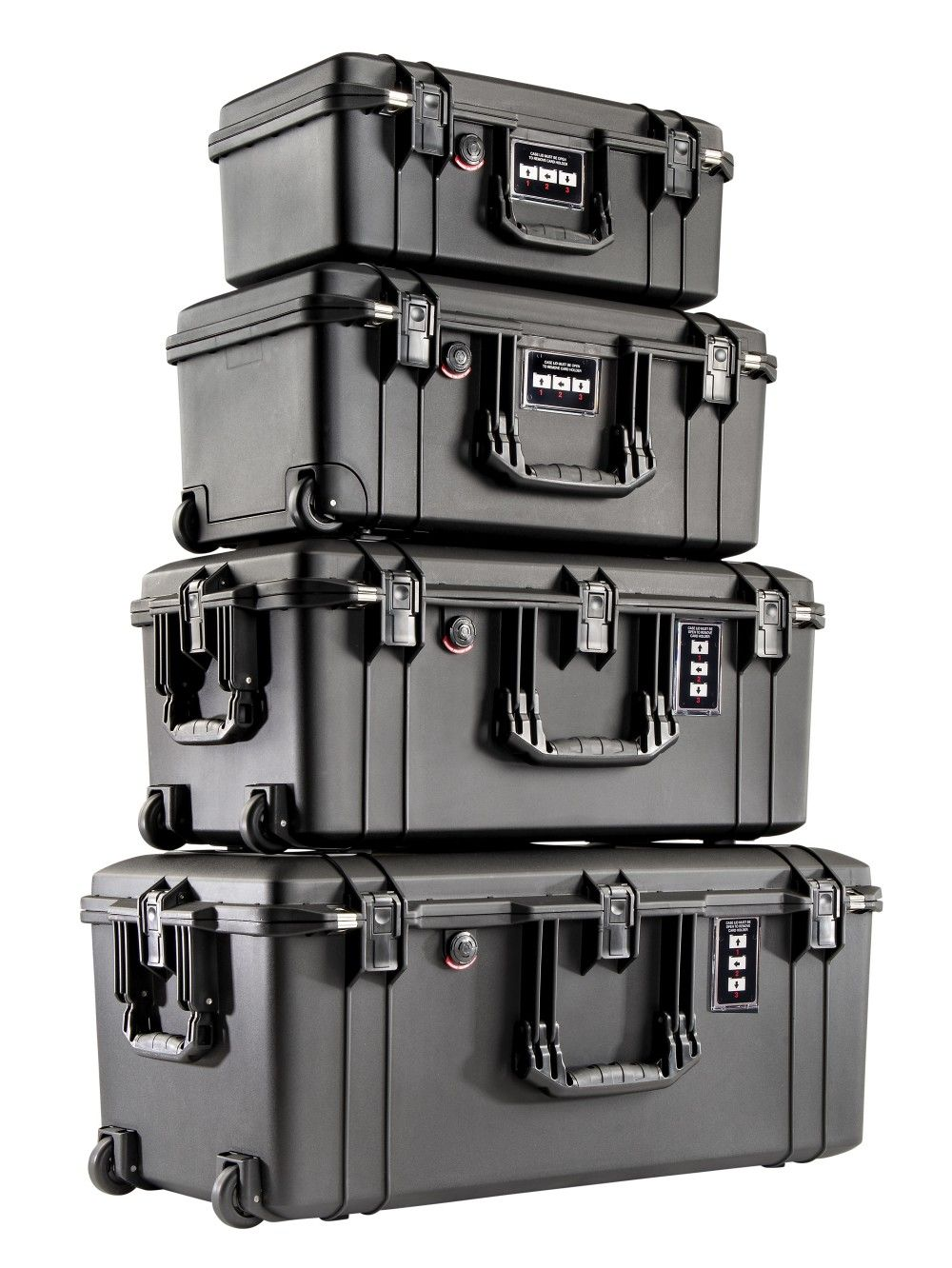 The 1506, 1556, 1606 and 1626 Pelican Air Cases are