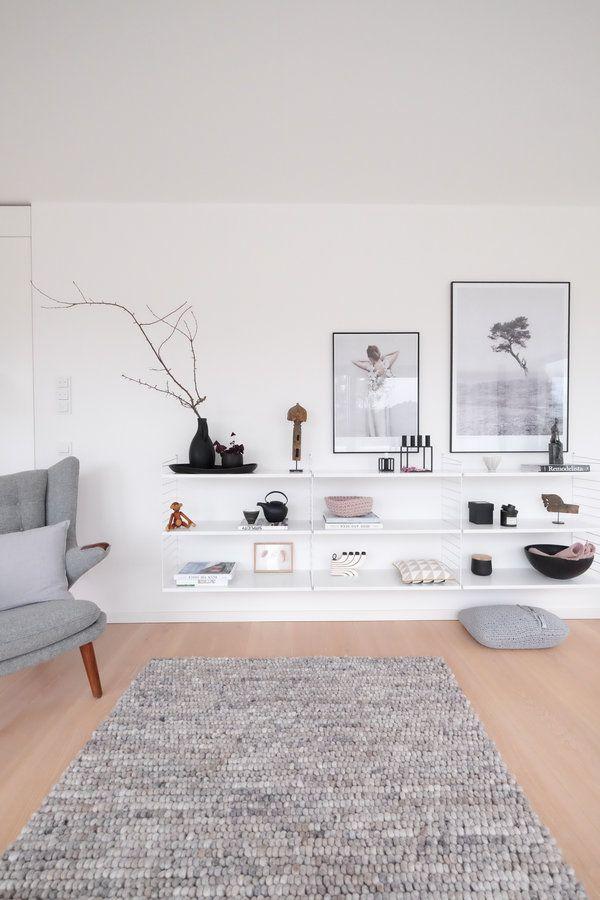 Das neue String-Regal Dekoration Wohnzimmer Pinterest - deko wohnzimmer regal