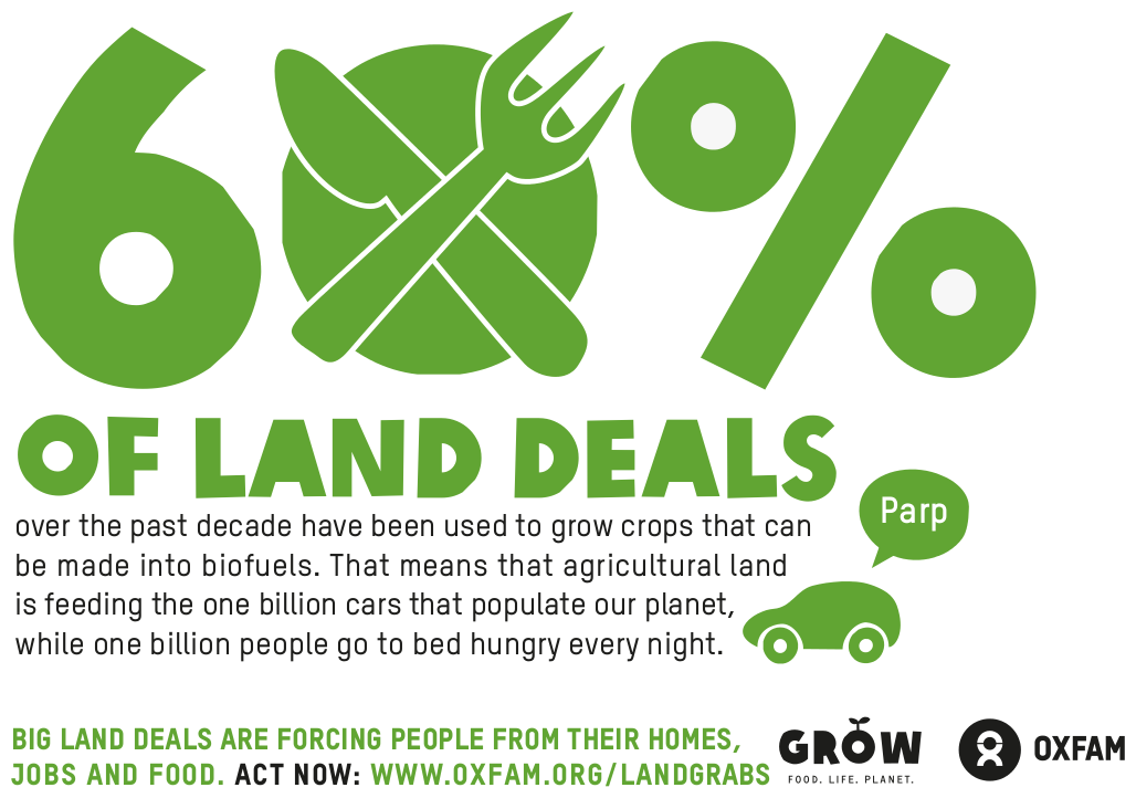 60 Of Land Deals Over The Past Decade Have Been Used To Grow
