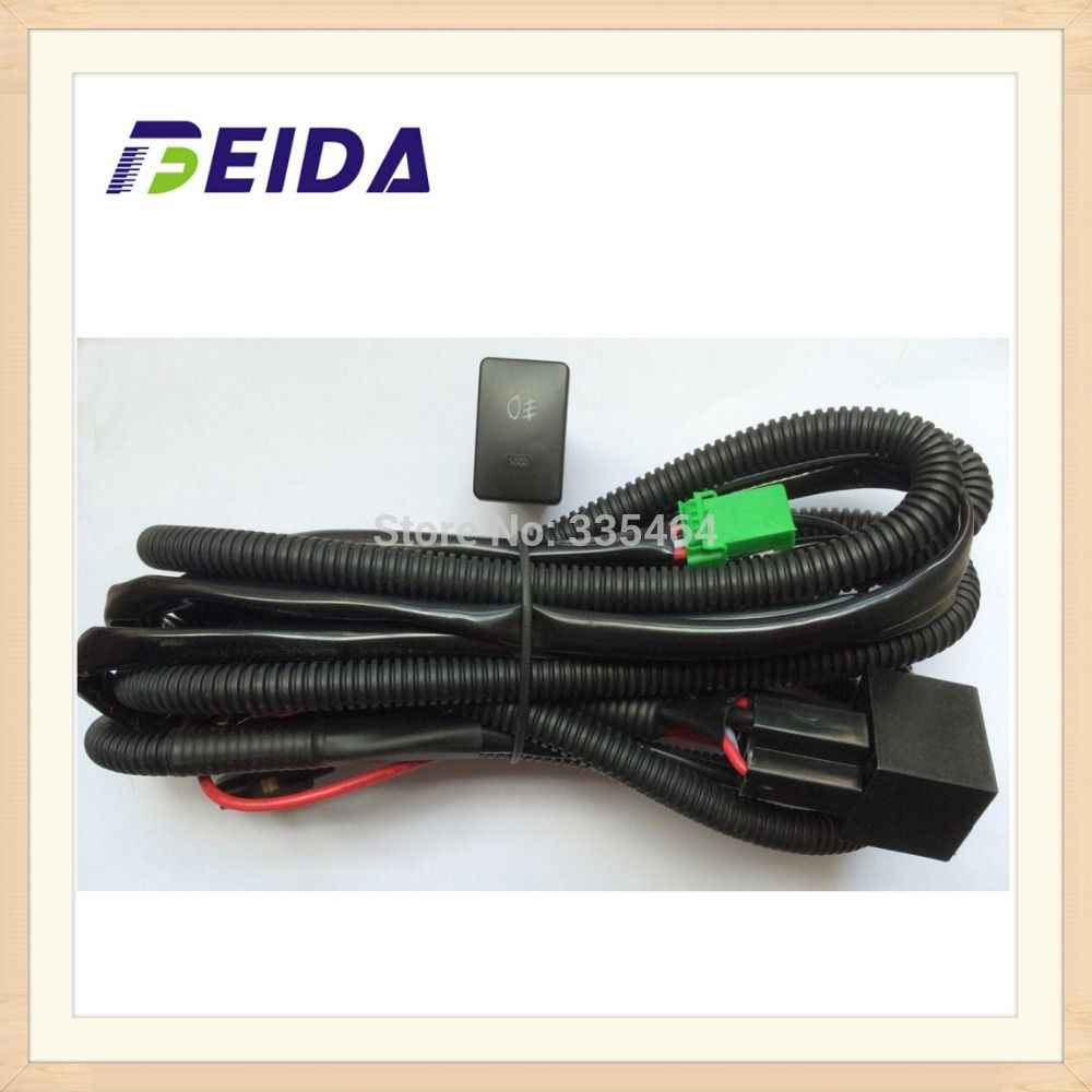 Fog Light Switch With Wireharness For Toyota Corolla Verso Camry Electrical Wiring Yaris
