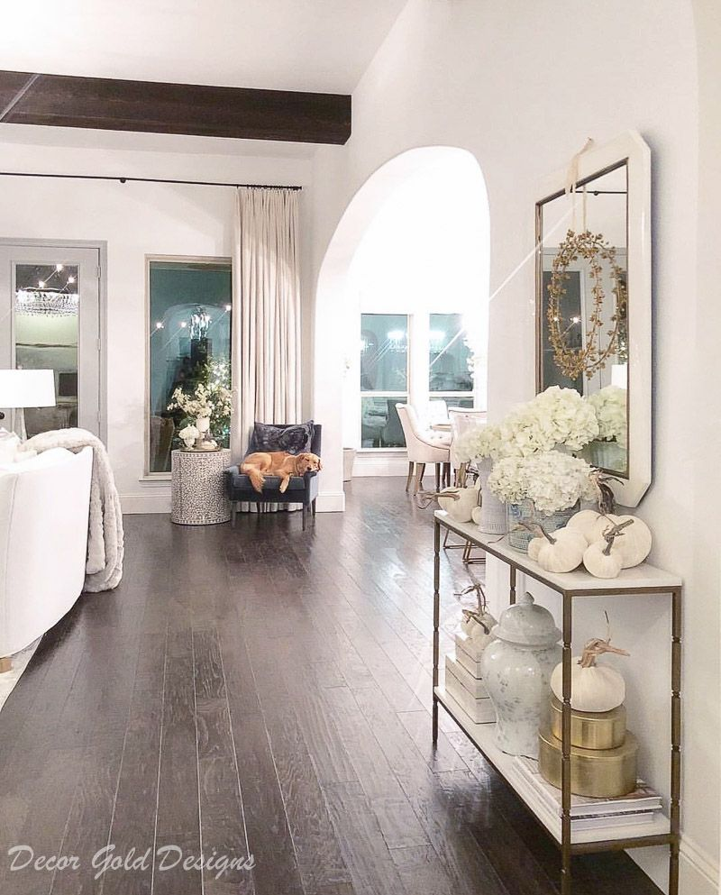 Instagram post entry hall with arches and beams hometour homedecor decorating interiordecorating also top posts of decor gold designs home rh pinterest