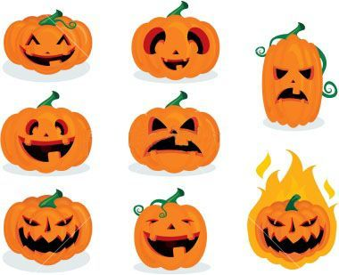 pumpkin carvings - Halloween Pumpkin Faces Ideas