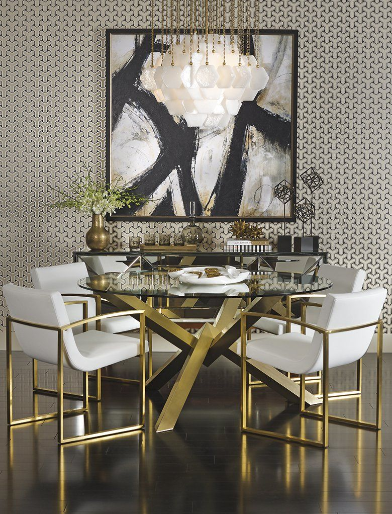 Shop Gold Dining Room Dining Room Small Luxury Dining