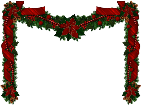 Transparent Christmas Long Garland Png Picture Holiday Decor Christmas Christmas Garland Dollhouse Christmas