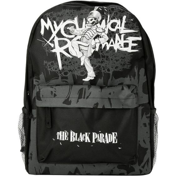 My Chemical Romance The Black Parade Backpack , backpacks, accessories, pocket bag, black knapsack, rucksack bag, backpacks bags and black backpack