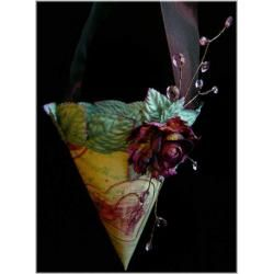 Victorian Valentine Cones - Nancy Malay