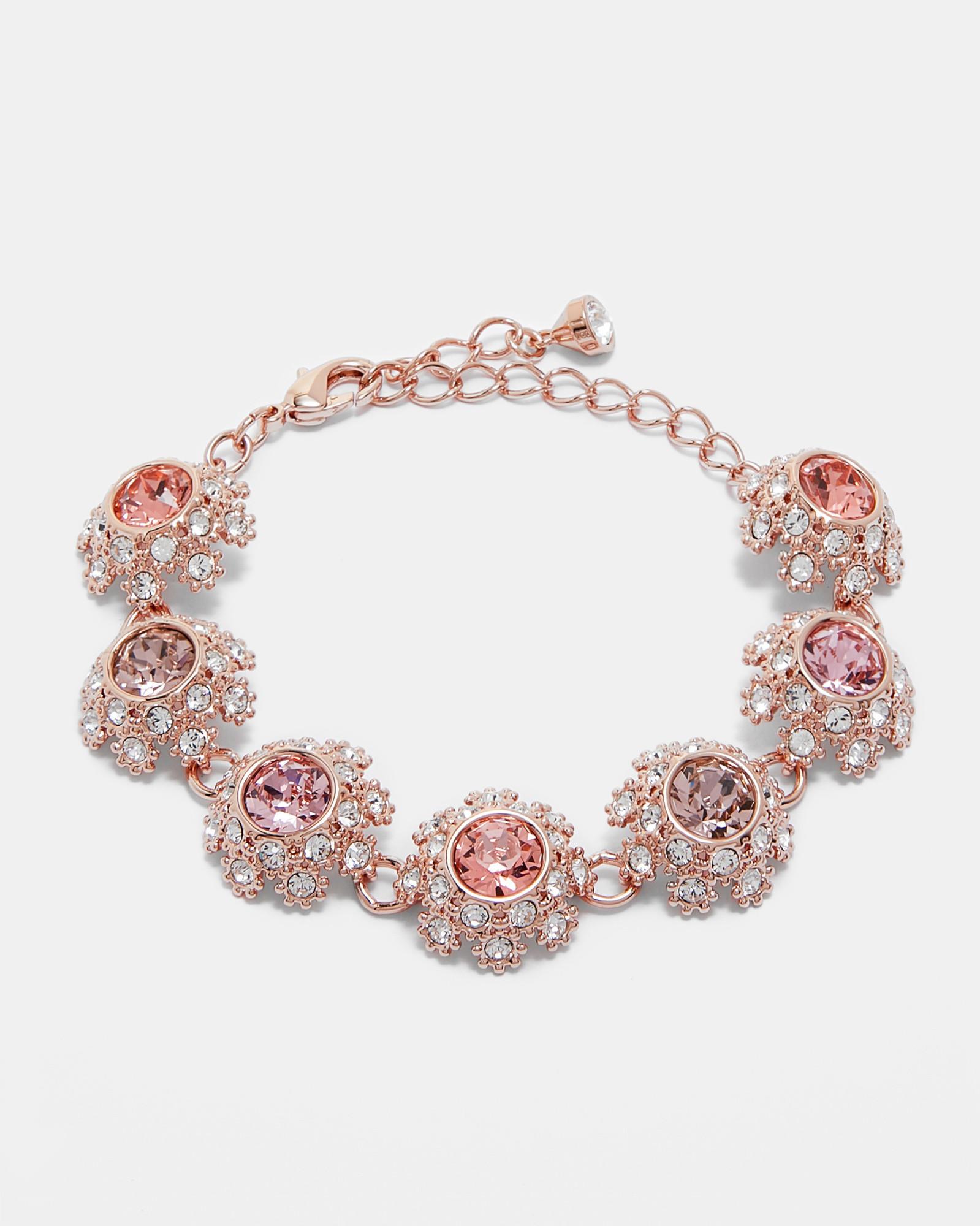 4d7659f17 Ted Baker Swarovski® daisy lace bracelet Pink