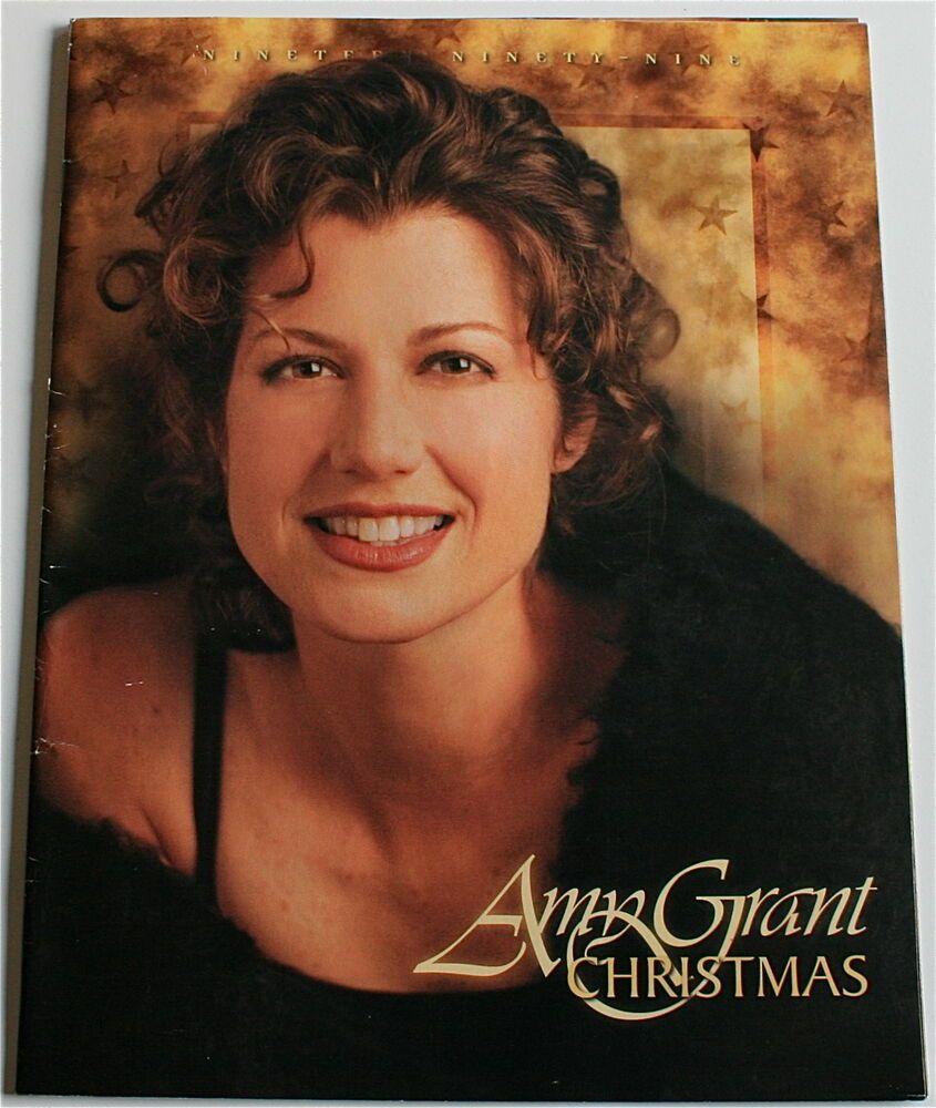 Amy Grant 1999 Christmas Concert Program Nashville Symphony