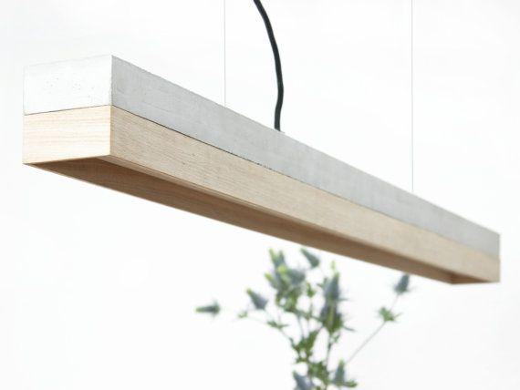 Pendelleuchte c1oak beton eiche minimalistisch von for Minimalistisch werden