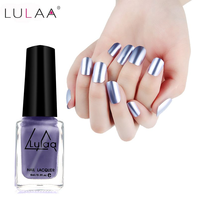 2017 LULAA 6ML Nail Art Tools Matt Lacquer Gel Nail Polish Matte ...