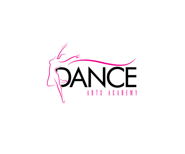 dance arts academy logo design idea png 600 500 pixels suni kumar rh pinterest com dance studio logo ideas dance studio logo vector